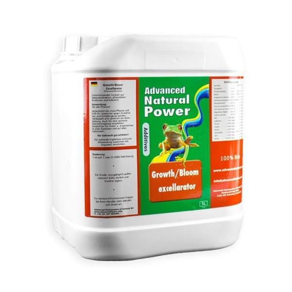 Growth/Bloom Excellerator Ad. Hydroponics - 5L
