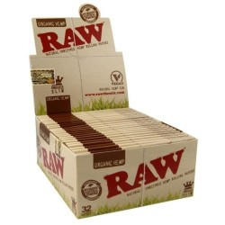 Raw King Size Slim Organic - Caja 50 Libritos