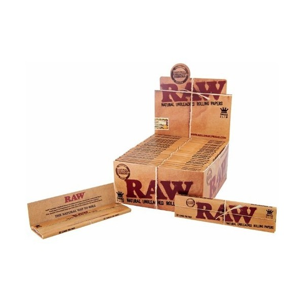Raw King Size Slim - Caja 50 Libritos