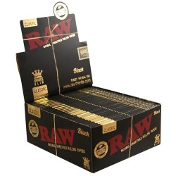 Raw Black King Size Slim - Caja 50 Libritos