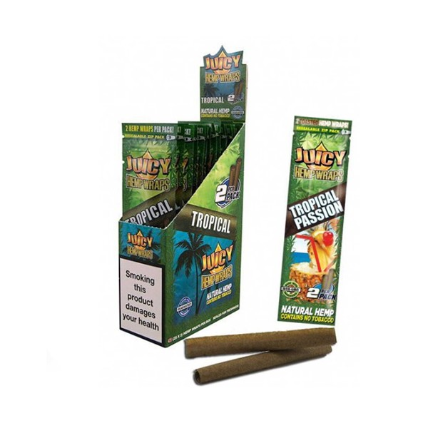 Papel Juicy Hemp Wraps Mango-Papaya