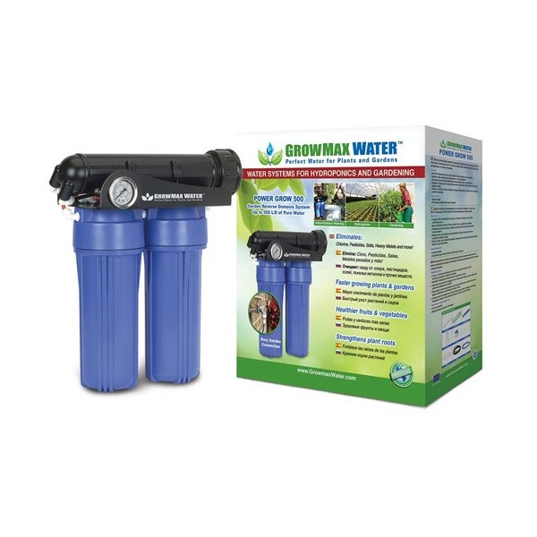 Filtro Osmosis PowerGrow 500L/Día Growmax