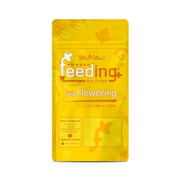 Long Flowering Powder Feeding Green House - 125gr